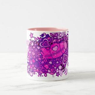 Romance_On_A_Submarine Two-Tone Coffee Mug