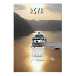 Romance on the Lake 3.5x5 Paper Invitation Card