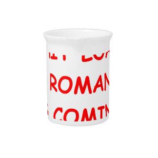romance beverage pitchers