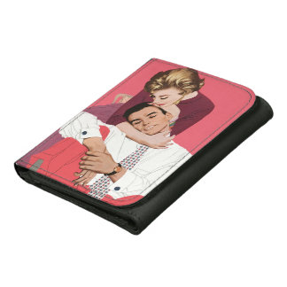 Romance retro rosado, amor romántico del vintage