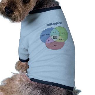 Romance Camisetas De Perro