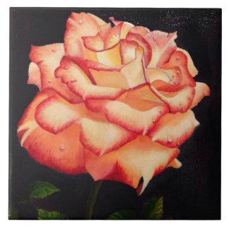 Romance rose gothic tile