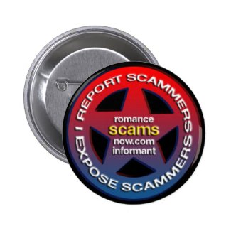 Romance Scams Now™ Informant Badge