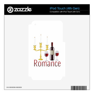 Romance Skin For iPod Touch 4G