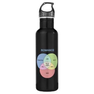 Romance Stainless Steel Water Bottle