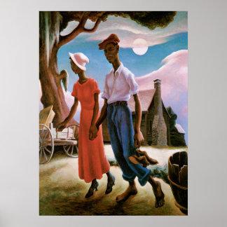 Romance, Thomas Hart Benton, Poster