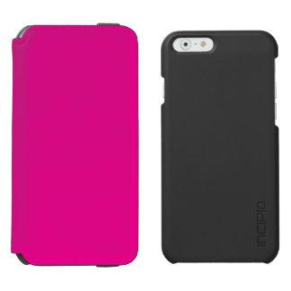 Romance tropical magenta Fucsia-Púrpura-Rosado de Funda Billetera Para iPhone 6 Watson