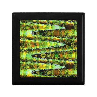 Romance verde de la laguna Agita espectro de n Cajas De Joyas