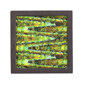 Romance verde de la laguna Agita espectro de n Caja De Joyas De Calidad