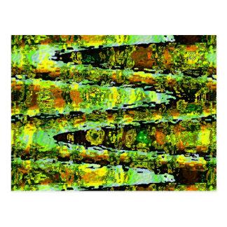 Romance verde de la laguna: Agita espectro de n Postales