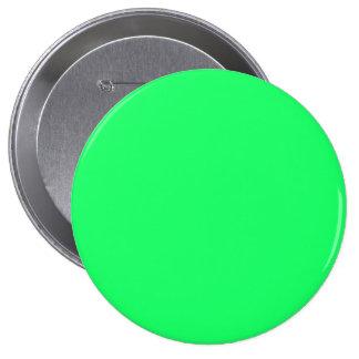 Romance Verde-Tropical del Cal-Verde-Ácido de Pin Redondo 10 Cm
