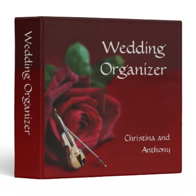 Romance Wedding Organizer Binder