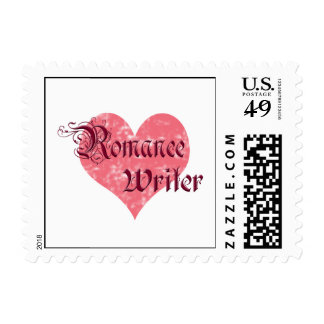 Romance Writer Postage Stamp