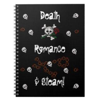 Romance y vapor, cuadernos de la muerte