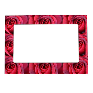 RomanceMe Red Roses Magnetic Frame