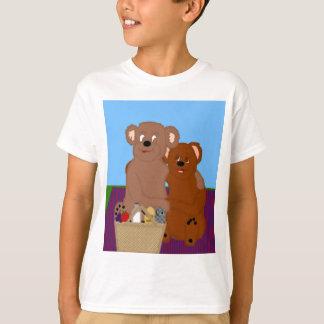 Romancing la camisa de los niños del oso