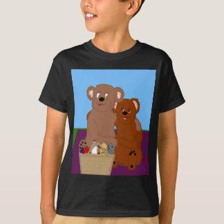 Romancing la camiseta de los niños del oso
