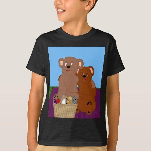 Romancing la camiseta de los niños del oso remera