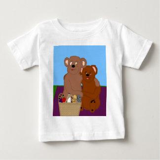 Romancing la camiseta del niño del oso playeras