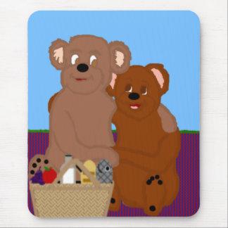 Romancing the Bear Mousepsd Mouse Pad