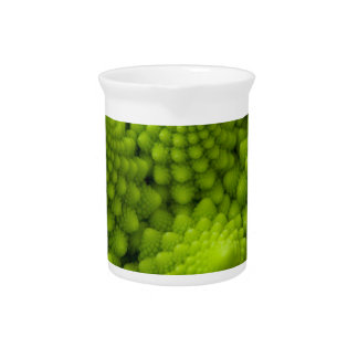 Romanesco Broccoli Fractal Vegetable Drink Pitcher