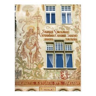 Romanesque Building(2), Old Town, Prague Postcards