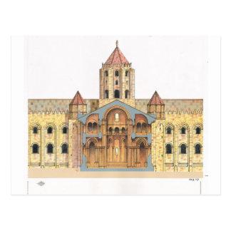 Romanesque de Santiago de Compostela Postales