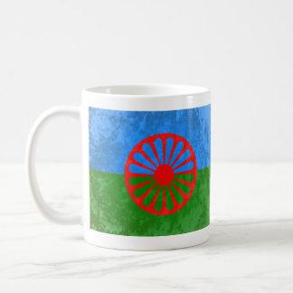 Romani flag coffee mug