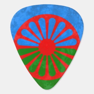 Romani flag pick