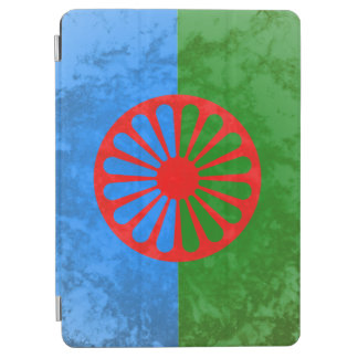 Romani flag iPad air cover