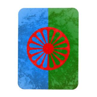Romani flag magnet
