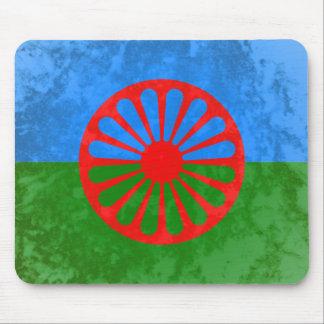 Romani flag mouse pad