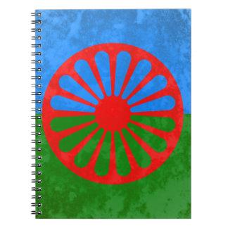 Romani flag notebook