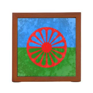 Romani flag Pencil/Pen holder