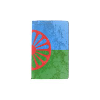 Romani flag pocket moleskine notebook