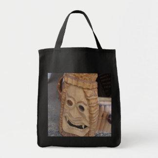 Romania, Bran, Dracula mask Tote Bags