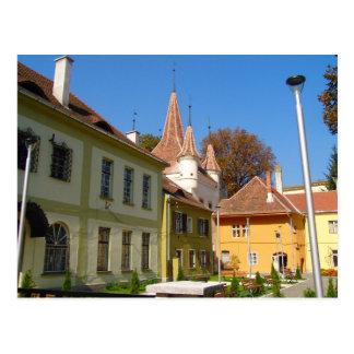 Romania, Brasov, city square Postcard