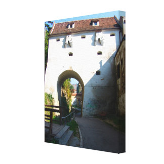 Romania, Brasov, Fortified gateway Canvas Prints