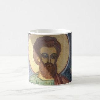 Romania, Brasov, Orthodox Christian Ikon Classic White Coffee Mug