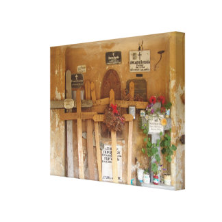 Romania,  Brasov Orthodox shrine Canvas Print