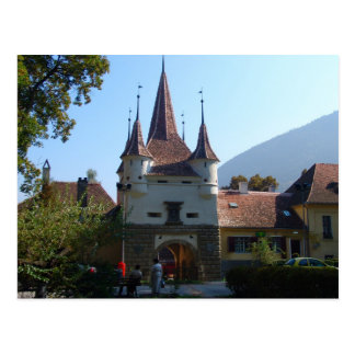 Romania, Brasov,  St Katherine's Gate Postcard