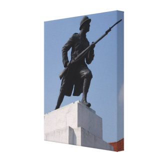 Romania,  Brasov, War Memorial Canvas Print