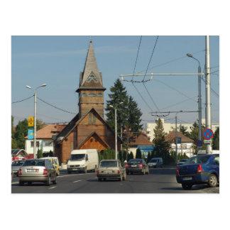 Romania, Brasov, Wooden church Postcard