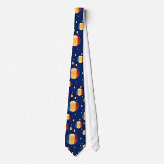Romania Bubble Flag Neck Tie