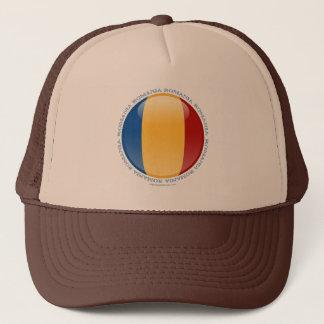 Romania Bubble Flag Trucker Hat