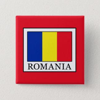 Romania Button