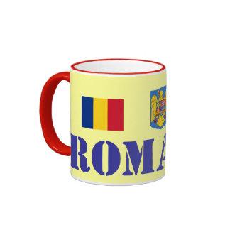 Romania Ceramic Mug