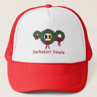 Romania Christmas 2 Trucker Hat