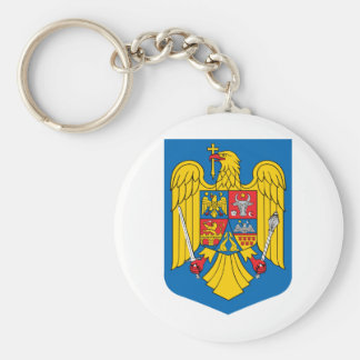 Romania coat of arms key chains