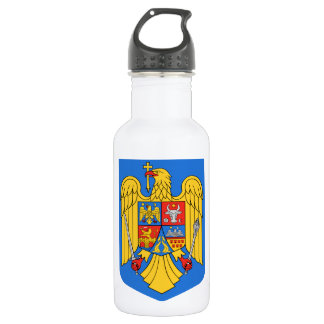 Romania Coat of Arms 18oz Water Bottle